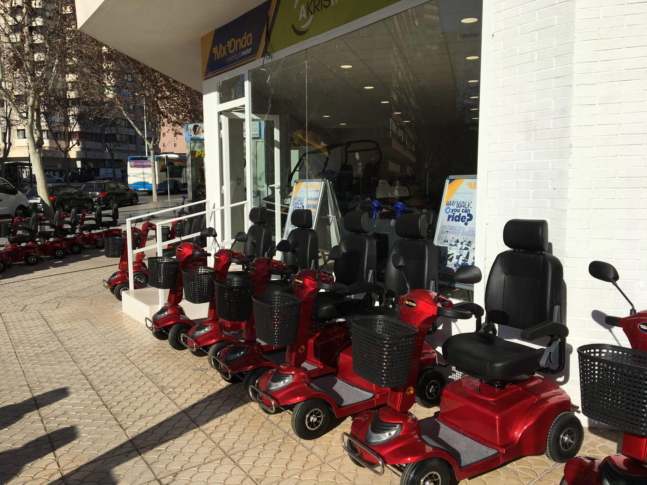 Venta de Scooter de Movilidad Alquiler Reparación Benidorm
